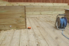 Outdoor Decking & Electrical Work
