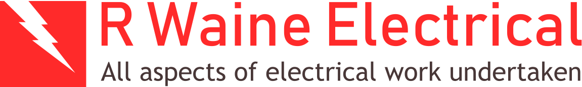 R Waine Electrical Logo