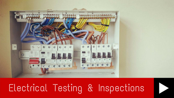 Electrical Testing & Inspections Banner